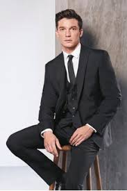 Buy <b>Men's suits Formal Formal Suits Black Black</b> from the Next UK ...