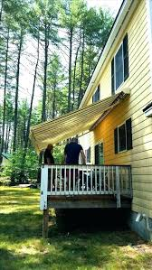 Diy Deck Canopy Wood Awnings Awning Ideas Plans In Inspirations Outdoor Pinterest