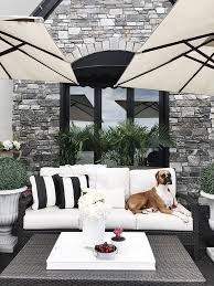 white patio furniture. you can make any outdoor space magical with some good lighting white patio furniture
