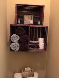 wooden crate shelves crate stacked shelves above wooden box shelf diy
