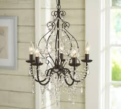 paige crystal chandelier pottery barn lighting ideas
