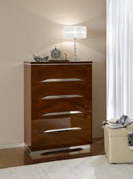 Tall Bedroom Chest Bedroom Modern Chest Furniture Made Of White Maple With Six