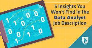 Database Analyst Job Description 5 Insights You Wont Find In The Data Analyst Job Description