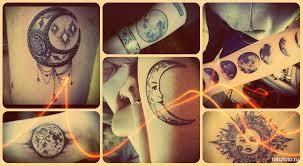 тату месяц что означает значения всех татуировок на теле узнайте