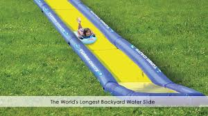 Backyard Water Obstacle Course  Outdoor Furniture Design And IdeasWater Slides Backyard