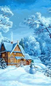 Christmas Scenes Free Downloads Winter Snow Covered World 4 Android Wallpapers Htc T