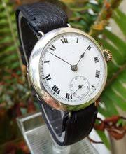 antiques atlas antique and vintage mens watches vintage wrist watch company · a gents silver trench watch 19