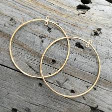 gold filled hoop chandelier earring component sterling jewelry findings savannah jewelry supply