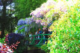 anese bridge closeup monet garden giverny