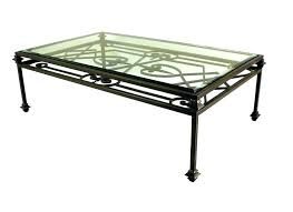 iron glass wrought iron legs wood coffee table with for furniture glass custom iron glass coffee