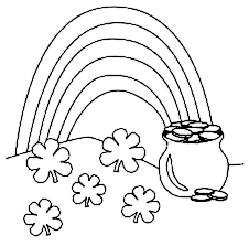 Small Picture Pot of Gold on St Patricks Day Coloring Page Batch Coloring