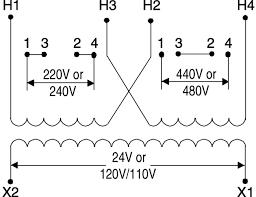 480 volt transformer wiring diagram wiring schematics and wiring how to hook up a 480 to 240 transformer at Control Transformer Wiring Diagram