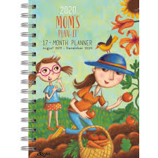 At A Glance Academic Planner 2020 17 Moms Plan It 2019 2020 17 Month Planner