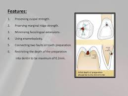 Class 1 Cavity Design Steps Of Cavity Preparation For Class 1
