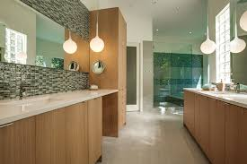 image credit thomas development and construction bathroom vanity mirror pendant lights glass