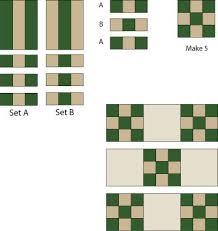 Double Nine-Patch Quilt Block Pattern & double nine patch quilt block pattern Adamdwight.com
