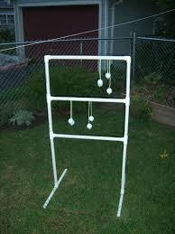 ladder golf pvc camping game