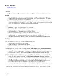 seamstress resume sample security guard resume sample
