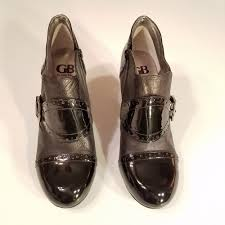 Gianni Bini Gb Womens 9 5m High Heel Booties Black Patent