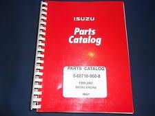 heavy equipment parts accessories for isuzu isuzu 4bg1 diesel engine parts book manual 5 88710 960 8