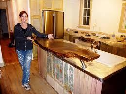 Reclaimed Wood Antique Kitchen Island Furniture Decor Trend