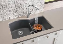 blanco diamond sink. Of Course The Good Looks Draw You In But Functionality Is What You\u0027ll Love Day To Day. This New DIAMOND™ 1-3/4 Sink With Low-divide Offers 8 Color Blanco Diamond O