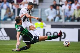 Cristiano Ronaldo off the mark for Juventus with two goals vs Sassuolo