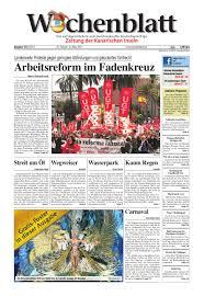 Wochenblatt Ausgabe 153 By Wochenblatt Sl Issuu