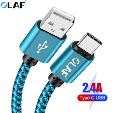 <b>OLAF USB</b> C <b>USB</b> Type C Cable 3m 2m <b>5v 2.4A</b> Fast Charging ...