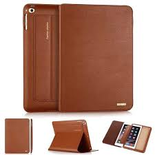 newest cowhide genuine leather case for new ipad pro 10 5 2017 business slim foldable stand smart cover for apple ipad pro 10 5
