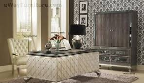 hollywood style furniture. Image Is Loading New-Silver-Executive-Desk-Home-Office-Furniture-Crystal- Hollywood Style Furniture I