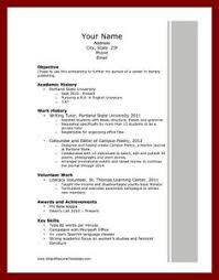 Docstoc.comresume For Scholarship | Download Pinterest | Pinterest