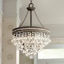 living dazzling bronze and crystal chandelier 22 mesmerizing mini 24 small chandeliers for with regina olive
