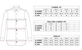 Dress Shirt Size Chart Mens Dress Shirt By Steven Land Lines Blue