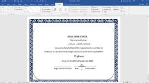 how to create high school diploma  how to create high school diploma