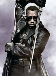 black lapel collar blade long trench coat for men