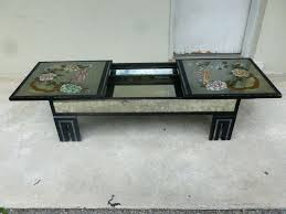 hollyoodregency unknon asian style coffee table low