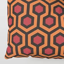 overlook hotel carpet the shining floor pillow by prodesigner2 779563332626