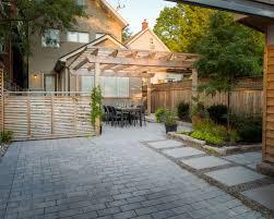 Painted Concrete Block Homes  Finally A Concrete Drivewaypatio Backyard Driveway Ideas