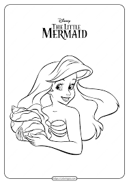 Disney princes sofia the first colouring page for kids you can read more info on disney here. Free Printable Ariel Coloring Pages