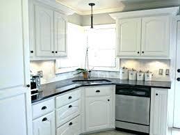 ideas for white cabinets kitchen brown dark granite backsplash black countertops and gra