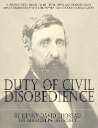 book on the duty of civil disobedience thejesh gn