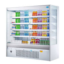 open refrigerator. china 2m length supermarket open display refrigerator