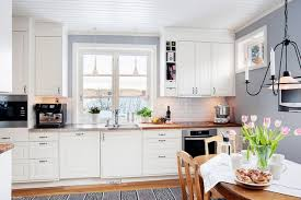White wood kitchen Scandinavian Whiteandwoodinthekitchen1 Adorable Home White And Wood In The Kitchen Adorable Home