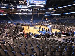 Amway Center Section 111 Orlando Magic Rateyourseats Com