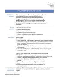 police resume in of resume for police officer best template police officer resume cover letter law enforcement resume police