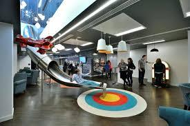 slide google office. Impressive Google Sf Office Decor : Cozy 2599 Fice Design Slide Head Elegant F