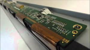 lcd tv fault repair diagnostics vertical band