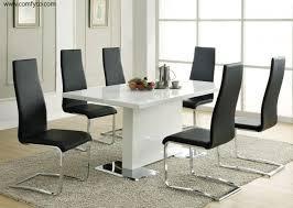 kitchen contemporary dining table sets minimalist modern inside designs 3