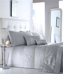 silver bedding sets luxury duvet sets grey or white silver sequin silver bed sheets